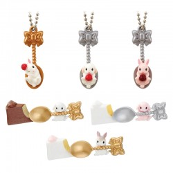 Miniaturas Spoon Rabbit Berry Gashapon