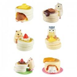 Miniaturas Hamster & Pancake Gashapon