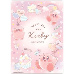 Kirby Lovely Sweet Writing Mat