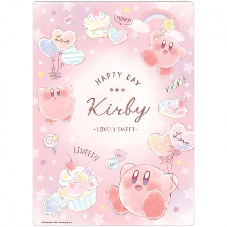 Kirby Lovely Sweet Writing Mat