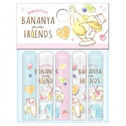 Bananya Fruity Friends Pencil Caps