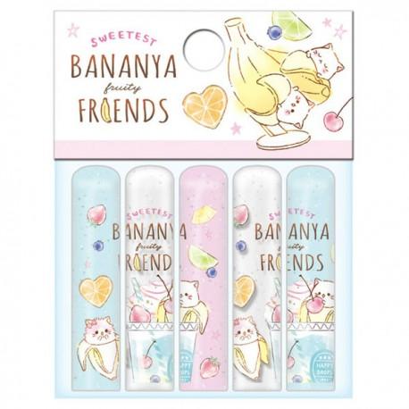 Bananya Fruity Friends Pencil Caps
