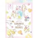 Bananya Fruity Friends Mini Memo Pad