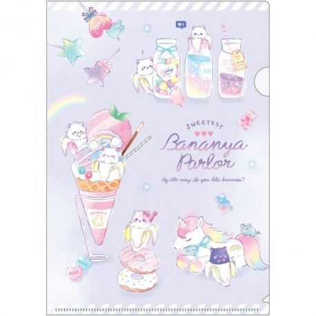 Bananya Parlor File Folder
