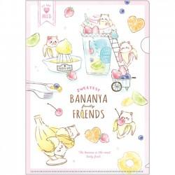 Carpeta Bananya Fruity Friends