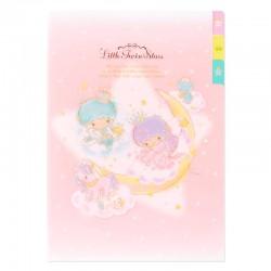 Carpeta Clasificadora Index Little Twin Stars Aurora Fantasy