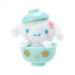 Sakura Bowl Cinnamoroll Mini Plush