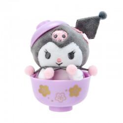 Sakura Bowl Kuromi Mini Plush
