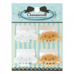 Set Mini Molas Cabelo Cinnamoroll
