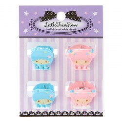 Little Twin Stars Mini Hair Clips Set