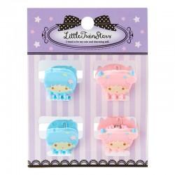 Set Mini Molas Cabelo Little Twin Stars