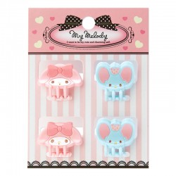 My Melody Mini Hair Clips Set