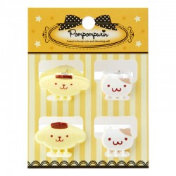 Pompom Purin Mini Hair Clips Set