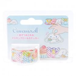 Washi Tape Peel-Off Cinnamoroll Sweets