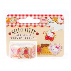 Hello Kitty Biscuits Peel-Off Washi Tape