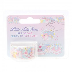Washi Tape Peel-Off Little Twin Stars Candy Land