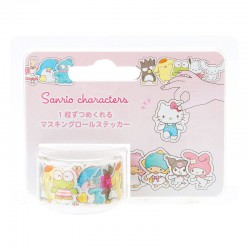 Washi Tape Peel-Off Sanrio Characters