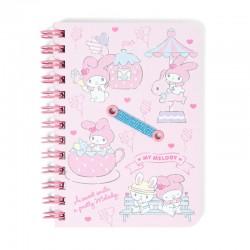 My Melody Amusement Park B7 Mini Notebook