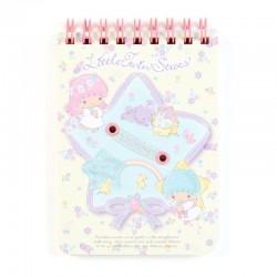 Mini Caderno B7 Little Twin Stars Starflowers