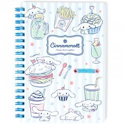 Caderno B6 Cinnamoroll Happy Days