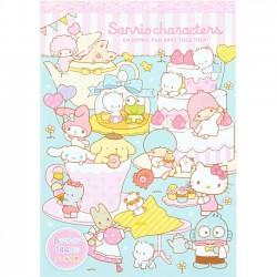 Sanrio Characters Fun Days Memo Pad