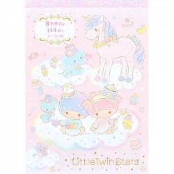 Little Twin Stars Kiki & Lala Land Memo Pad