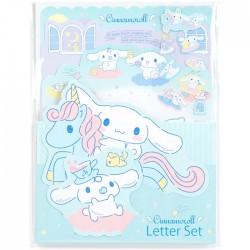 Set Cartas Die-Cut Cinnamoroll Unicorn