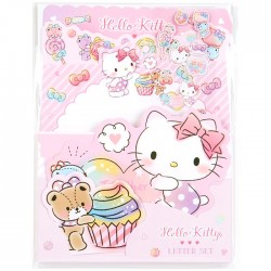 Set Cartas Die-Cut Hello Kitty Sweets
