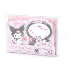 Kuromi Dressing Room Mini Cards Set