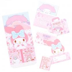 Cartões Memo Die-Cut My Melody Sweet Smile