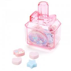 My Melody Erasers Perfume Bottle Set