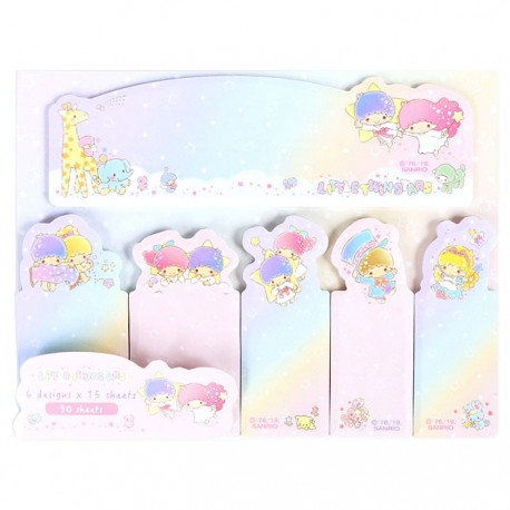 Little Twin Stars Rainbow Sky Index Sticky Notes