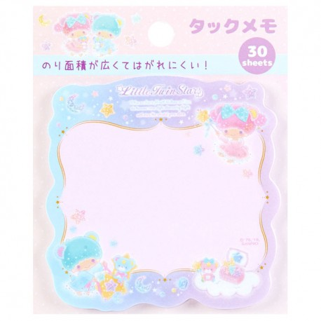 Little Twin Stars Beary Cute Die-Cut Sticky Notes