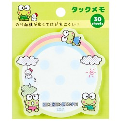 Keroppi Rainbow Die-Cut Sticky Notes