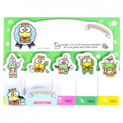 Keroppi Kingdom Index Sticky Notes