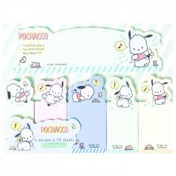 Pochacco Little Friends Index Sticky Notes