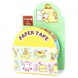 Washi Tape Pompom Purin Fun Days