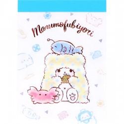 Marumofubiyori Mini Memo Pad