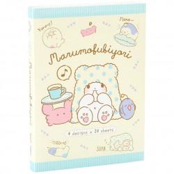 Libro Bloc Notas Marumofubiyori Relaxing