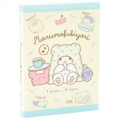 Marumofubiyori Relaxing Memo Book