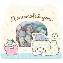 Saco Stickers Marumofubiyori Relaxing