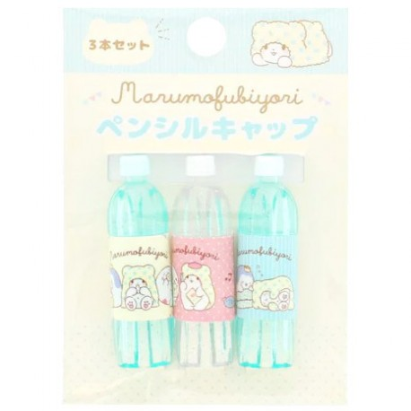 Marumofubiyori Relaxing Bottle Pencil Caps