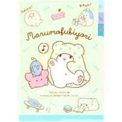 Marumofubiyori Relaxing Index File Folder