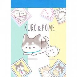 Kuro & Pome Mini Memo Pad