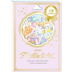 Melty Tale Circus Stickers Sack