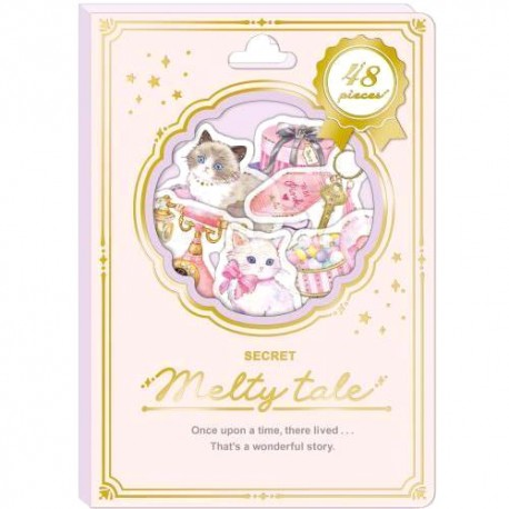Melty Tale Pink Holic Stickers Sack