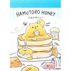 Mini Bloco Notas Hamutoro Honey