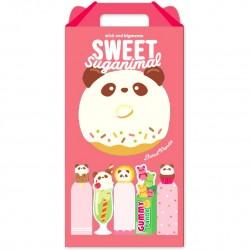 Sweet Suganimal Panda Memo & Sticky Notes Set