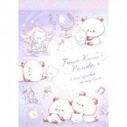 Mini Bloco Notas Fuwa Koro Panda