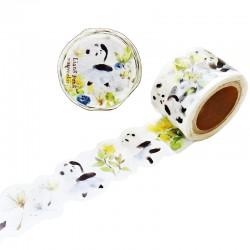 Panda Waltz Die-Cut Washi Tape